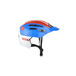 URGE prilba Endur-O-matic 2 Blue/White/Red