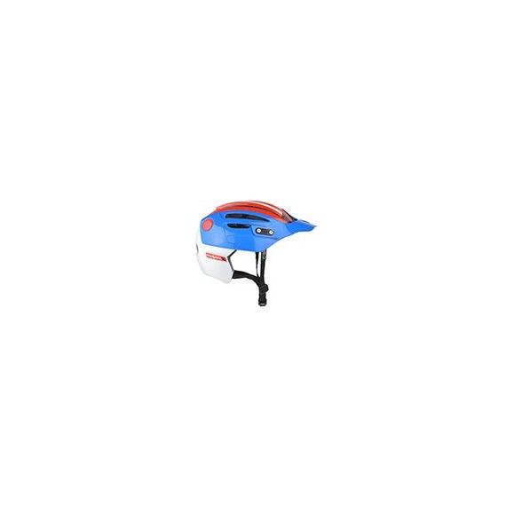 URGE prilba Endur-O-matic 2 Blue/White/Red 2017
