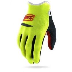 100% rukavice iTrack Ridecamp Neon Yellow