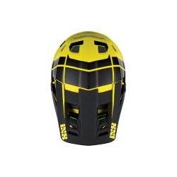 IXS náhradný šilt + šróby Xult Black/Yellow