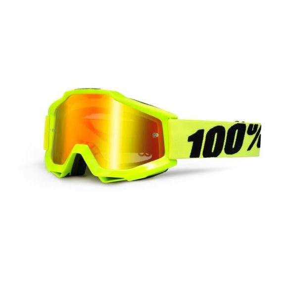 100% detské okuliare Accuri MX MTB Cupcoy - číre sklá