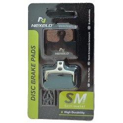 NEXELO brzdové platničky Shimano BRM985 semimetalické