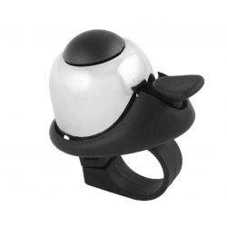 M-WAVE zvonček Mini Bella - biely