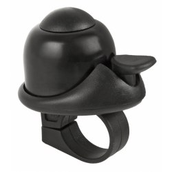 M-WAVE zvonček Mini Bella - čierny