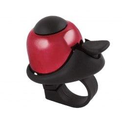 M-WAVE zvonček Mini Bella - červený