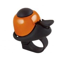 M-WAVE zvonček Mini Bella - oranžový