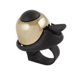 M-WAVE zvonček Mini Bella - zlatý