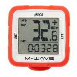 M-WAVE tachometer 14f červený