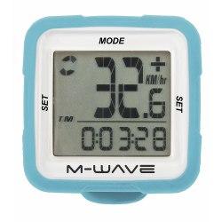 M-WAVE tachometer 14f modrý