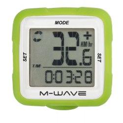 M-WAVE tachometer 14f zelený