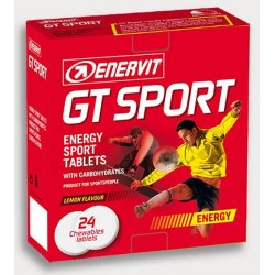 Enervit GT tablety 24ks citrón