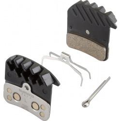 SHIMANO brzdové platničky metal s chladičom H03C