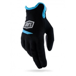 100% dámske rukavice Ridecamp Neon Yellow