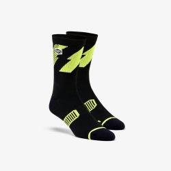 100% ponožky Bolt Lime 2018