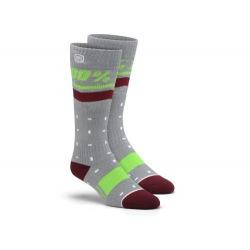 100% dámske ponožky Groove Grey