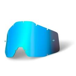 100% detské náhradné sklo Accuri, Anti-fog, modré zrkladlové
