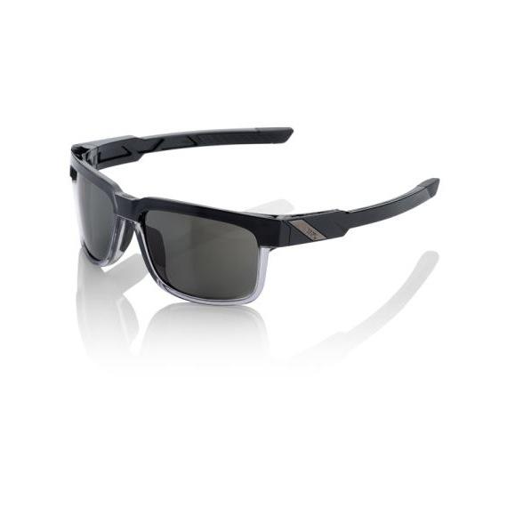 100% závodné slnečné okuliare Type-S Soft Tact Licorice bronzové sklá