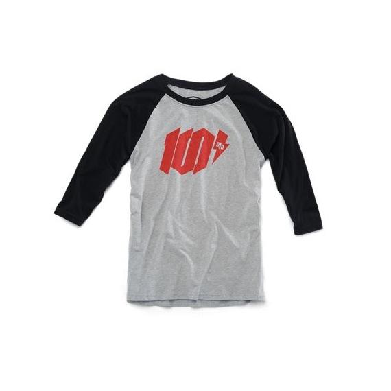 100% detské tričko Bolt Grey