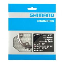 SHIMANO Prevodník 24z. M8000 XT 34-24z. strieborný