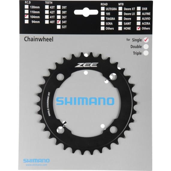 SHIMANO prevodník ZEE FC-M640