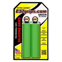 ESI gripy Extra Chunky zelené