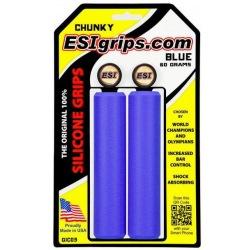 ESI gripy Chunky modré