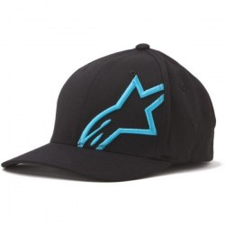 Alpinestars šiltovka CorpShift 2 Flexfit Black Blue