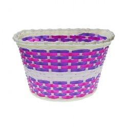NEXELO detský kôš plast biela/fialová