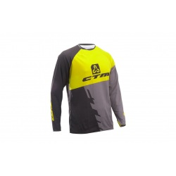 CTM dres Enduro Line L/S Black/Yellow 2018