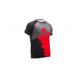 CTM dres Enduro Line S/S Black/Red