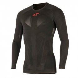 ALPINESTARS termoprádlo Tech Top L/S Black Red 2018