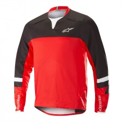 ALPINESTARS Dres Drop Pro L/S Black Red 2018