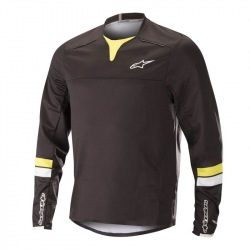 ALPINESTARS Dres Drop Pro L/S Black Acid Yellow 2018