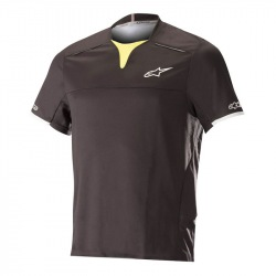 ALPINESTARS Dres Drop Pro S/S Black Acid Yellow