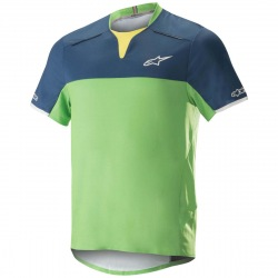 ALPINESTARS Dres Drop Pro S/S Poseidon Blue Summer Green
