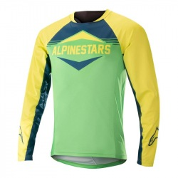 ALPINESTARS Dres Mesa LS Acid Yellow Summer Green