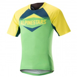 ALPINESTARS Dres Mesa S/S Acid Yellow Summer Green