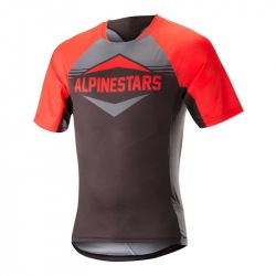 ALPINESTARS Dres Mesa S/S Red Steel Gray
