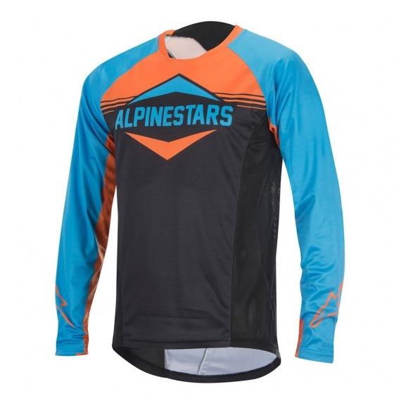 ALPINESTARS Dres Mesa LS Bright Blue Bright Orange