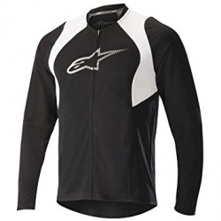ALPINESTARS Dres Drop 2 Full Zip L/S Black White 2018