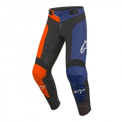 ALPINESTARS detské nohavice Youth Vector Black Energy Orange 2018