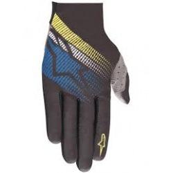 ALPINESTARS rukavice Predator Black Royal Acid Yellow