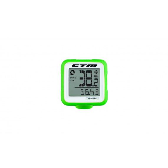 CTM tachometer Silicone zelená