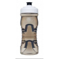 FABRIC fľaša 600ml 2019 Black Transparent/White