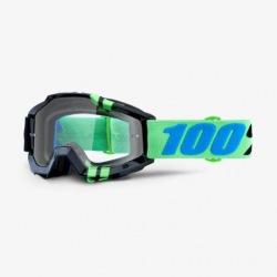 100% okuliare Accuri MX MTB Zerg číre sklá 2018