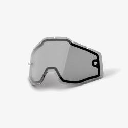 100% náhradné dvojité sklo Racecraft/Accuri/Strata (No Venting/Enduro) dymové