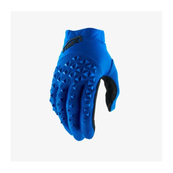 100% rukavice Airmatic Blue Black 2018