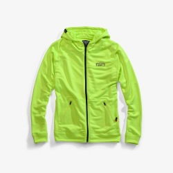 100% mikina Union Zip Flo Yellow