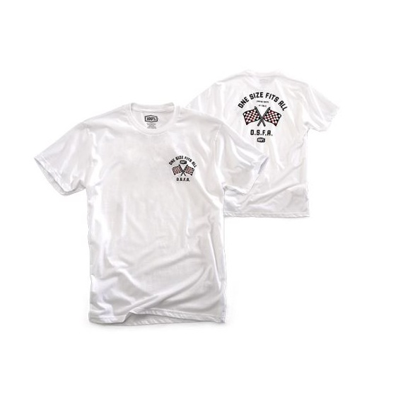 100% tričko O.S.F.A. White