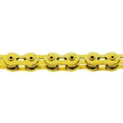 KMC reťaz K1 SL NARROW 1/2x3/32 zlatá